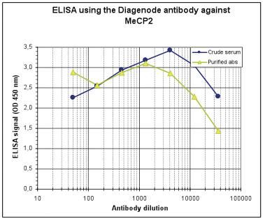 MeCP2 Antibody ELISA validated