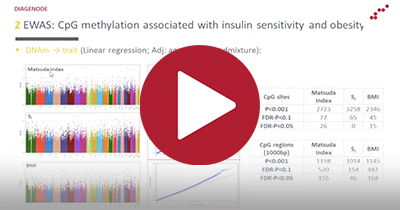 Webinar series: Adipose Tissue DNA Methylation and Epigenetic Regulator Mechanisms of Insulin Resistance and Obesity